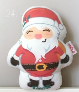 Coussin musical Babbu Natale Oh Vitelli